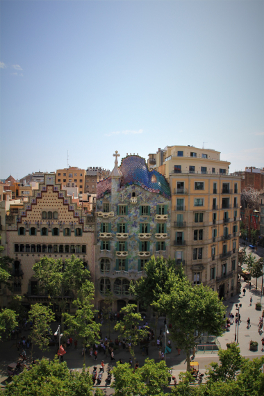 Luxury 3 bedroom apartment with views of the Casa Batlló