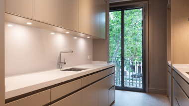 Luminoso piso de obra nueva en alquiler  en Gracia, Barcelona