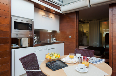 Fabulous 1 bedroom penthouse for rent in the Ciutat Vella