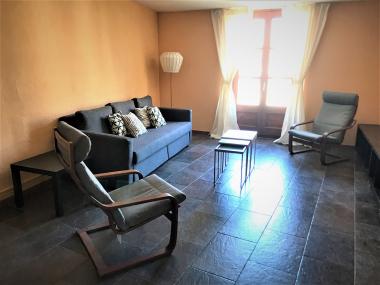En alquiler bonito piso amueblado de 1 habitacion en el Paseo del Born