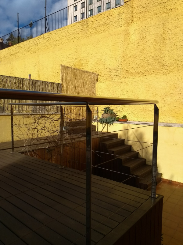 Triplex apartment for rent with terrace and private swimming pool near Diagonal