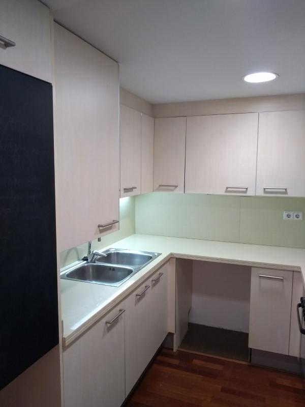 Duplex en alquiler de 2 habitaciones con terraza en Les Corts