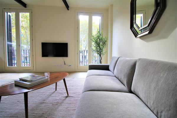 Bonito piso de 1 habitacion amueblado en el Paseo de Gracia