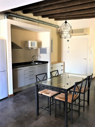 Cosy furnished loft for rent in the Paseo del Born