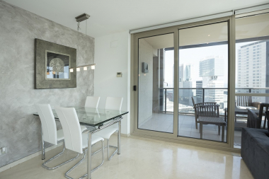 Fantastic apartment for rent with sea views in Barcelona