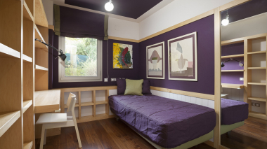 Lovely 3 bedroom furnished apartment for rent in Sarria, Barcelona.