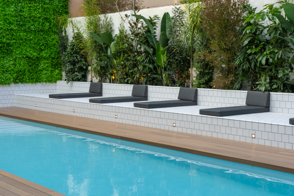 Piso de alto standing de 3 habitaciones en alquiler con piscina comunitaria