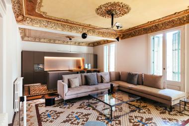 Duplex elegante de 4 habitaciones en alquiler en la Casa Burés
