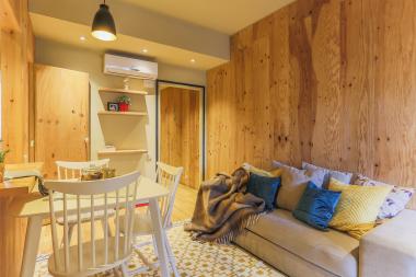 Acogedor piso amueblado de 2 habitaciones en alquiler en el Eixample