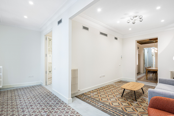 Hermoso piso de 2 habitaciones en alquiler en Gracia