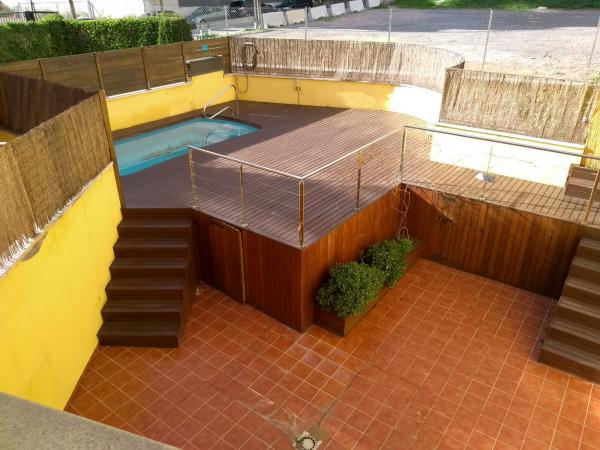 Triplex en alquiler 3 habitaciones con terraza y piscina privada