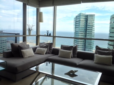 Fabulous 3 bedroom apartment for rent with incredible sea views