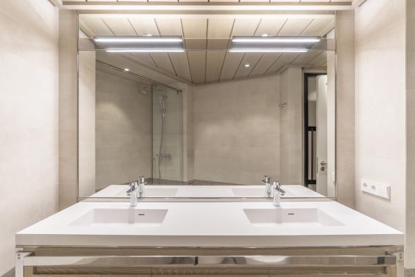 Piso exterior con 1 habitación renovado en Sarria, Barcelona